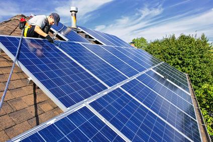 Le chauffage solaire gr ce vos panneaux solaires sur mon - Comment fonctionne les panneaux solaires ...