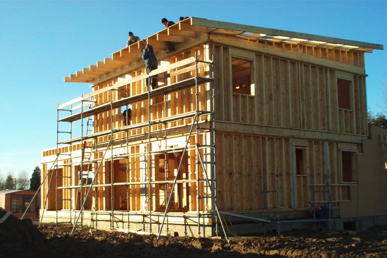 Prix maison ossature bois trouver un artisan dans votre ville for Construire ossature bois