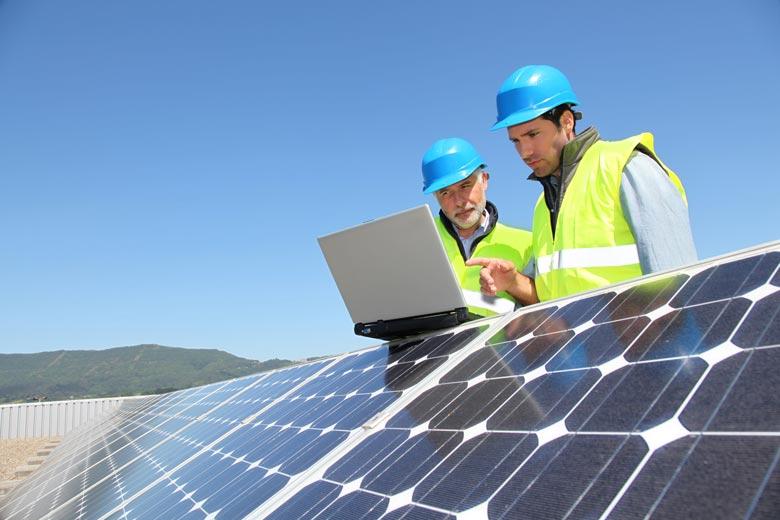 Chiffrage panneaux solaires