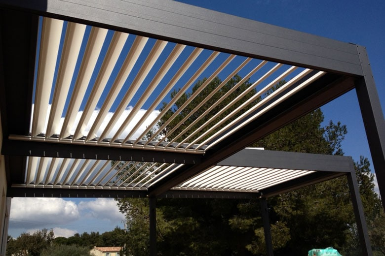 Chiffrage pergola bioclimatique