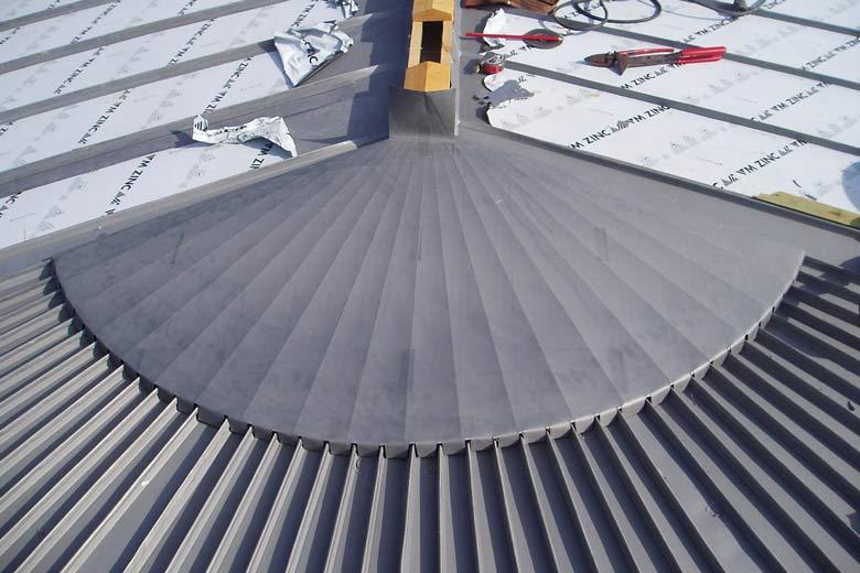 Chiffrage toiture zinc