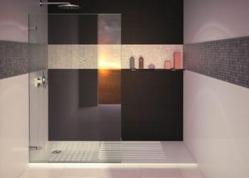 Devis douche italienne comparez 5 devis gratuits for Photo douche italienne avec marche
