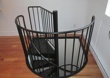 Devis escalier colima on mon - Escalier colimacon plan ...