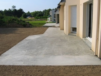 Devis terrasse en beton