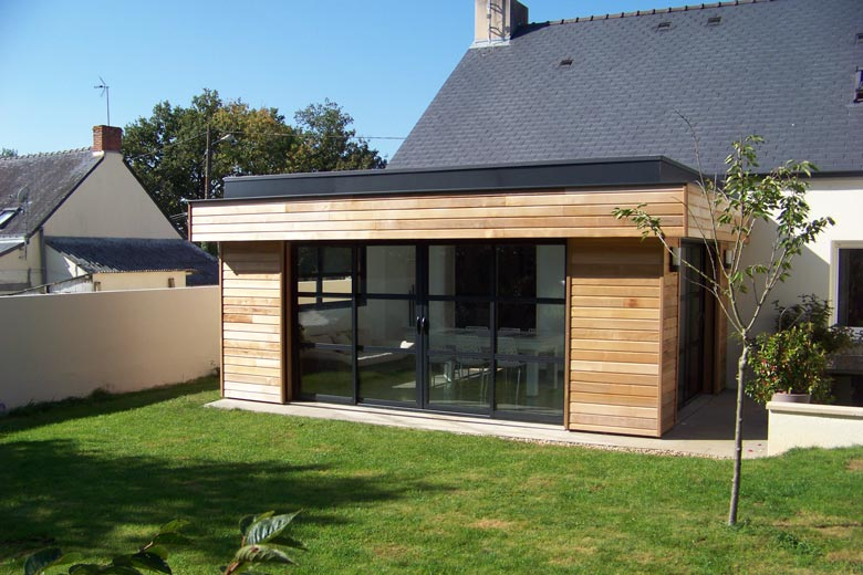 Prix de la construction d 39 une extension de maison - Photo extension maison ...