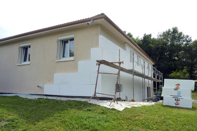 Devis isolation par l 39 ext rieur mon for Isolation facade exterieur