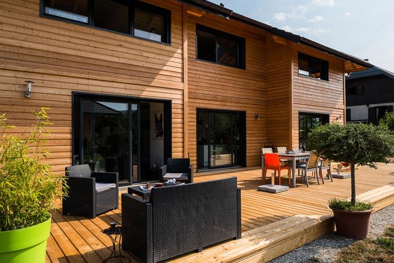 prix maison ossature bois trouver un artisan dans votre ville. Black Bedroom Furniture Sets. Home Design Ideas