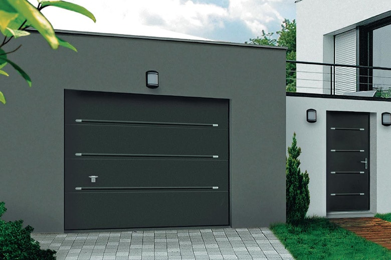 Devis porte de garage sectionnelle mon for Cout porte garage