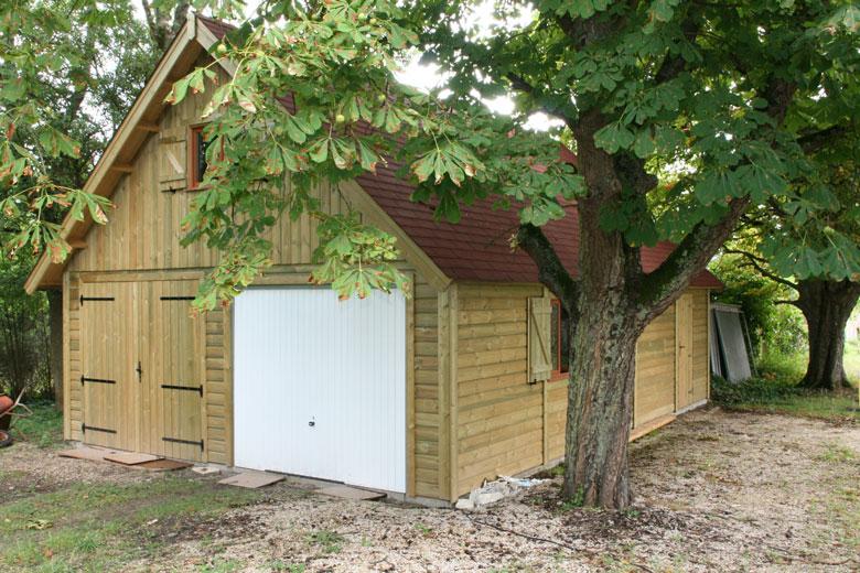 Devis construction garage comparez 5 devis gratuits - Structure en bois pour garage ...
