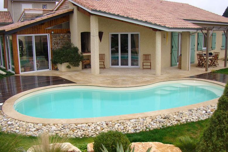 Piscine enterr e devis for Cout piscine creusee
